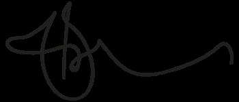 Handtekening Sebastiaan Vierkant